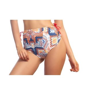 Hot pant dupla face est geometric frente 300x300 - Hot pant dupla face est geometric e laranja