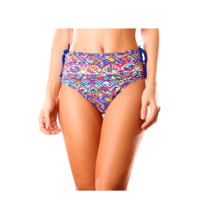 Hot pant dupla face est. color e azul frente 300x300 - Hot pant dupla face est color e azul