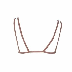 Top strappy rosé costa 300x300 - Top strappy renda rosé